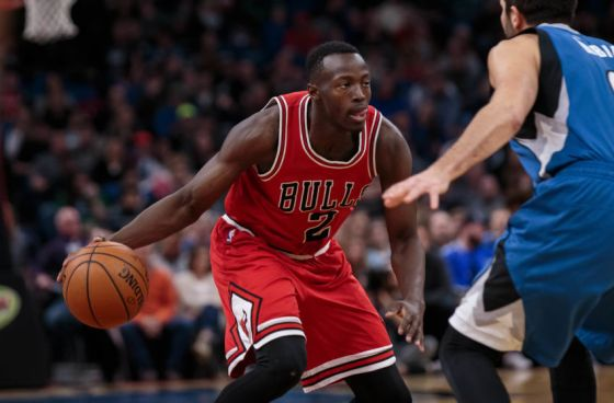 Jerian Grant - point guard for the Chicago Bulls 2017